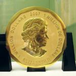 世界最大の金貨 博物館島から盗まれる!