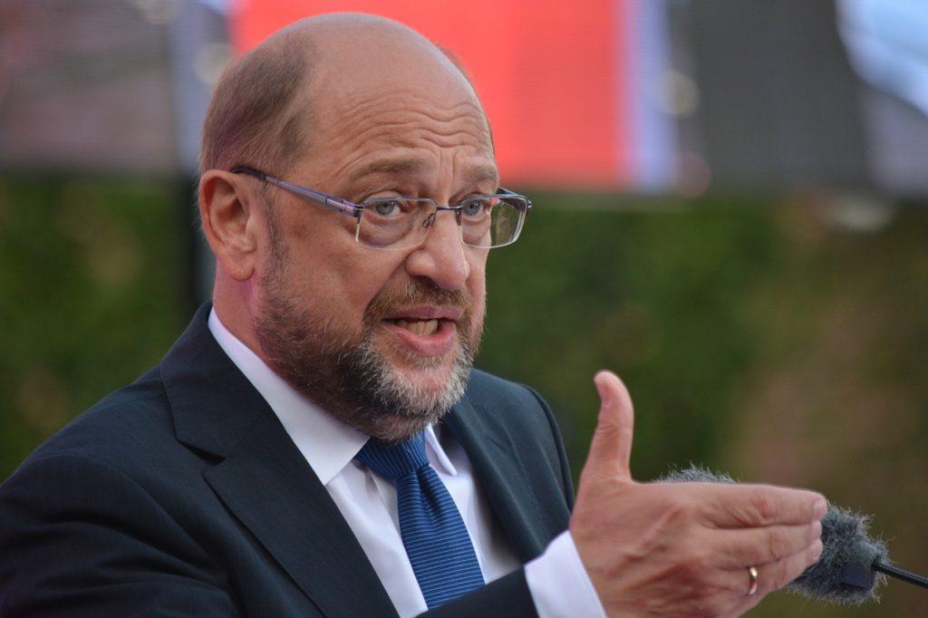 SPD党首、シュルツ氏
