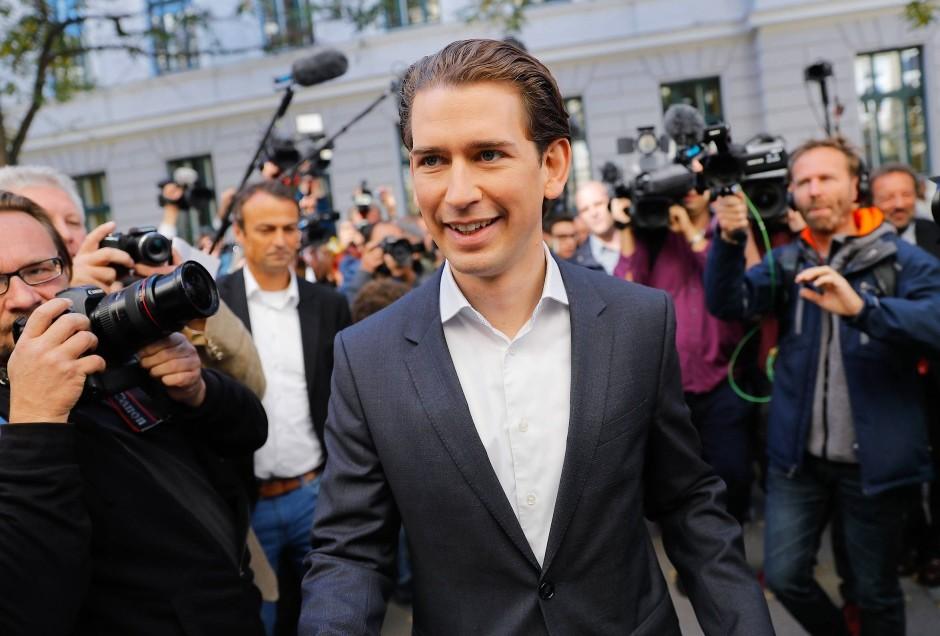 【若干31歳!】最年少のオーストリア クルツ首相誕生