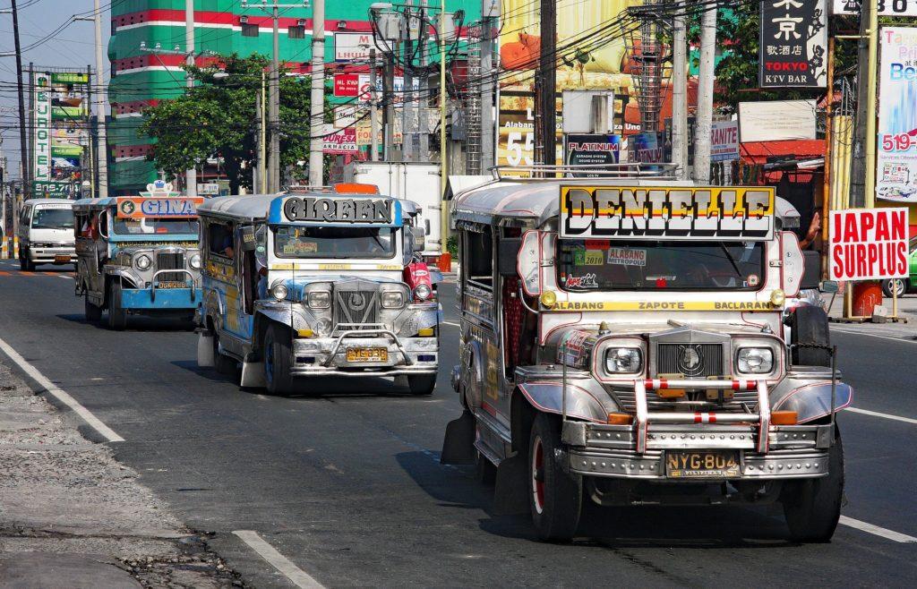 フィリピンの街角