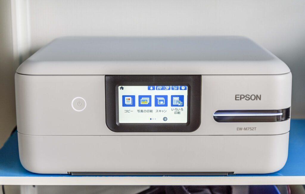 エプソン プリンター EW-M752T モニター
