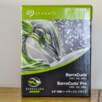 Seagate BarraCuda 6TB & 外付けHDD性能比較