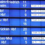 4週間で三度目のドイツ鉄道スト DAXもご機嫌斜め